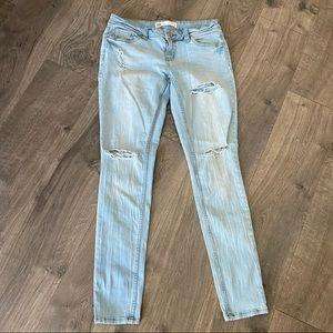 RSQ Distressed Ibiza Skinny Jean Size 7